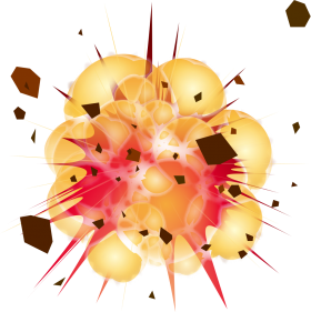 Explosion Clipart PNG