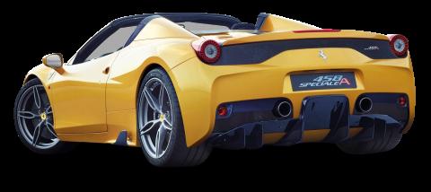 Ferrari 458 Speciale Aperta Yellow Car
