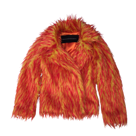 Flame Fur Coat