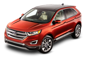Ford Edge Red Car