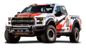 Ford F 150 Raptor White Car