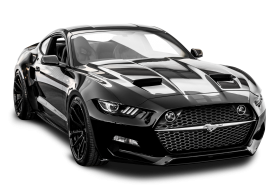 Ford Mustang Galpin Rocket Car