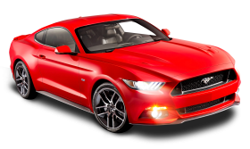 Ford Mustang Red Car
