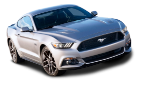 Ford Mustang Silver Car