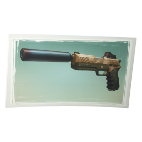 Fortnite Suppressed Pistol