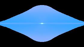 Front Blue Lens Flare