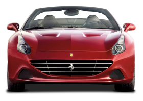 Front View of Ferrari California T Car