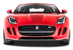 Front View of Jaguar F Type R Car