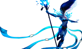 Frost queen Janna skin
