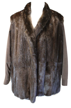 Fur Coat Burned