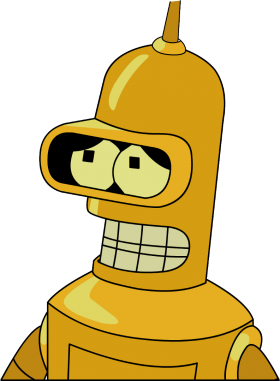 Futurama Bender Gold