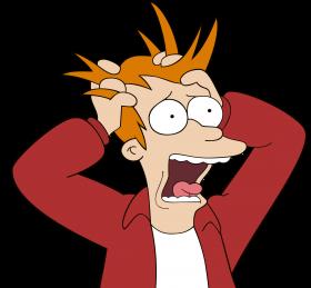 Futurama Fry Stress