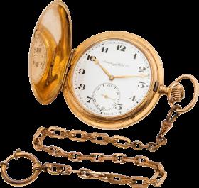 Golden Chain Stop Watch