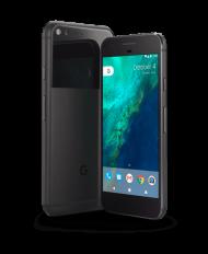 Google Pixel 1 sideways view