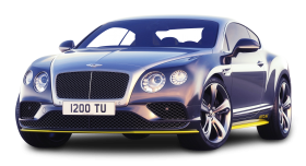 Gray Bentley Continental GT Speed Car