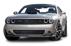 Gray Dodge Challenger Car