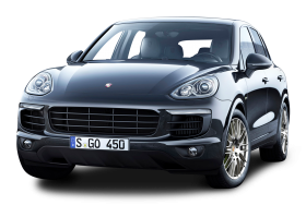 Gray Porsche Cayenne Car