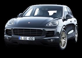 Gray Porsche Cayenne Car