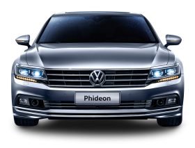 Gray Volkswagen Phideon Front View Car