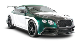 Green Bentley Continental GT Car