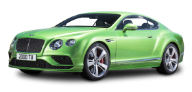 Green Bentley Continental GT4 Car