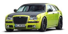 Green Chrysler 300C Car