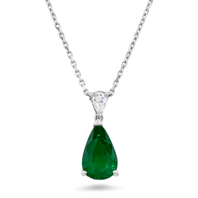 Green Diamond Pendant