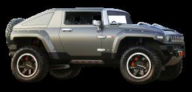 Green Hummer HX Car