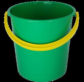Green PLastic Bucket