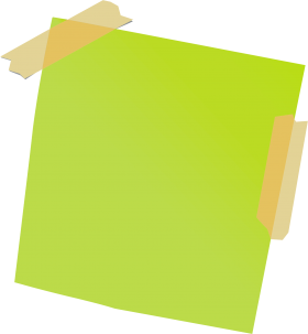Green Sticky Notes