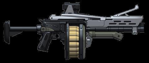 Grenade Launcher Clipart