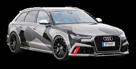 Grey Audi RS6 Avant Car