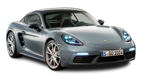 Grey Porsche 718 Cayma Car