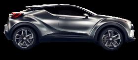Grey Toyota C HR Car