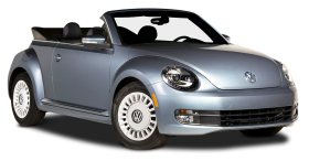 Grey Volkswagen Beetle Denim Car