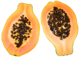 Half Cut Papaya