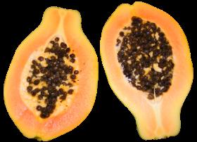 Half Cut Papaya