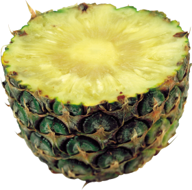 Halved Pinapple