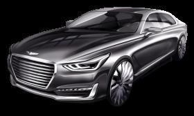 Hyundai Genesis G90 Gray Car