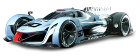 Hyundai N 2025 Vision Sports Car Blue