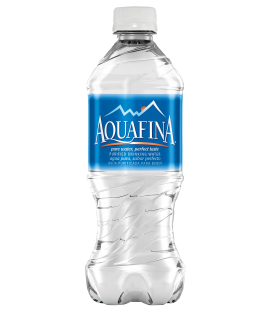 Ice Water Bottle Aquafina