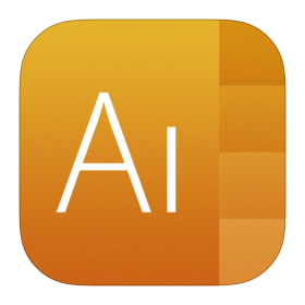 Illustrator Icon iOS 7