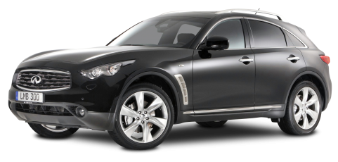 Infiniti FX30d S Black Car