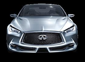 Infiniti Q60 Car Silver