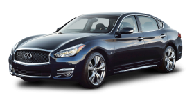 Infiniti Q70 Facelift Black Car