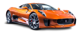 Jaguar C X75 James Bond Orange Car