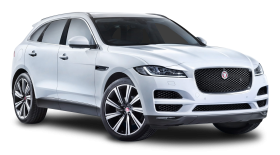 Jaguar F PACE White Car