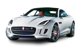 Jaguar F TYPE White Car