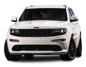 Jeep Grand Cherokee SRT White Car