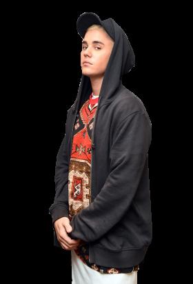 Justin Bieber Looking into Camera